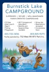 SUPERVISED - SECURE - WELL MAINTAINED FAMILY-ORIENTED CAMPGROUND