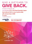 GIVE A GIFT CARD TO GIVE BACK.