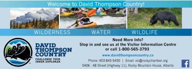 Welcome to David Thompson Country!
