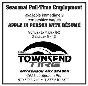 Seasonal Full-time Employment At Mgm Townsend Tire