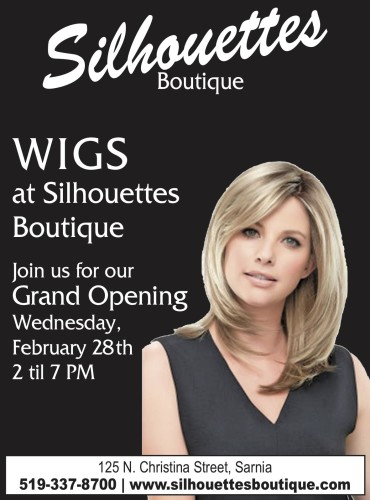 WIGS at Silhouettes Boutique