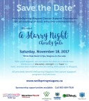13th Annual A Starry Night Charity Gala Saturday, November 18