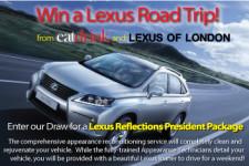 Win a Lexus of London Road Trip!