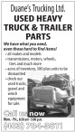 USED HEAVY TRUCK & TRAILER PARTS