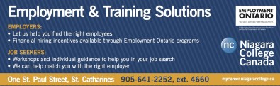 EMPLOYMENT ONTARIO: Your job is out there. We'll help you find it.