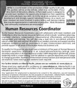 Human Resources Coordinator