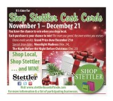 It's time for Shop Stettler Cash Cards
