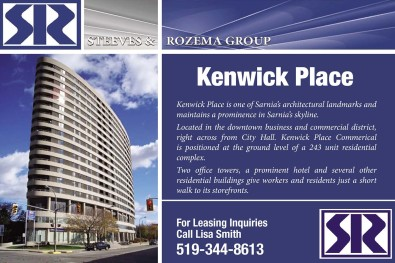 For Leasing Inquiries Call Lisa Smith 519-344-8613