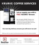 Let us supply you with a FREE* KEURIG® Brewer.