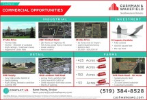 SARNIA COMMERCIAL OPPORTUNITIES