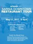 SARNIA DOWNTOWN RESTAURANT TOUR May 11, 2017