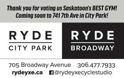 Thank you for voting us Saskatoon's BEST GYM!