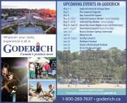 UPCOMING EVENTS IN GODERICH