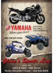 YAMAHA  Revs Your Heart   OWN THE OFF-ROAD