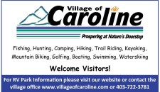 Village of Caroline Prospering at Nature's Doorstep