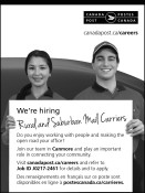 We're hiring Rural and Suburban Mail Carriers