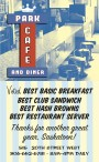 PARK CAFE AND DINER  Voted BEST BASIC BREAKFAST