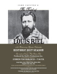 The Trial of LOUIS RIEL:  50th Anniversary Reunion Celebration