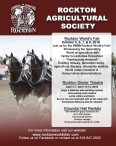 ROCKTON AGRICULTURAL SOCIETY ANNUAL EXHIBITION