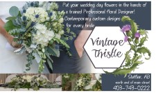 Put your wedding day flowers in the hands of a trained Professional