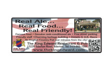 King Edward: Real Ale... Real Food... Real Friendly!