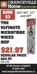 THE ULTIMATE MICROFIBRE WHIZZ MOP at ORANGEVILLE Home Hardware