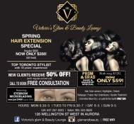SPRING HAIR EXTENSION SPECIAL
