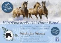 HOOFmaster PLUS Winter Blend