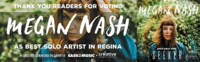 VOTING MEGAN NASH AS BEST SOLO ARTIST IN REGINA