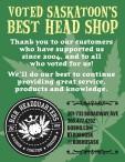 VOTED SASKATOON'S BEST HEAD SHOP