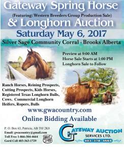 Gateway Spring Horse & Longhorn Auction