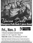 Union Duke Bluegrass/Folk Rock 5 piece Band