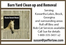 Barn Yard Clean Up and Removal