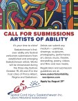 ARTISTS OF ABILITY CALL FOR SUBMISSIONS