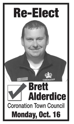 Re-Elect Brett Alderdice