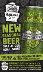 NEW SEASONAL BEER ONLY AT OUR RETAIL STORE