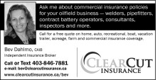 Ask me about commercial insurance policies for your oilfield business - welders, truckers, pipefitters, contract battery operators, consultants, inspectors and more.