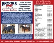 BROOKS Performance Horse Feeds