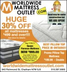 BEST PILLOW TOP PRICE IN ONTARIO at Worldwide Mattress