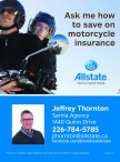 Ask me how to save on motorcycle insurance