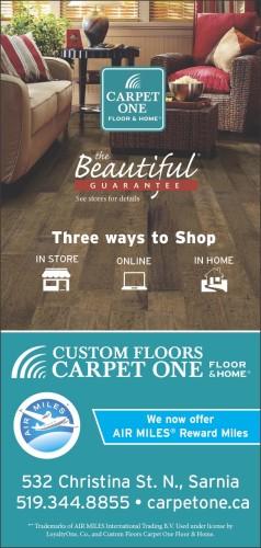 CARPET ONE FLOOR & HOME CUSTOM FLOORS