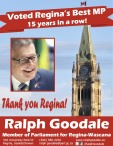 Voted Regina's Best MP 15 years in a row!
