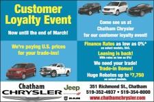 Customer Loyalty Event at Chatham Chrysler
