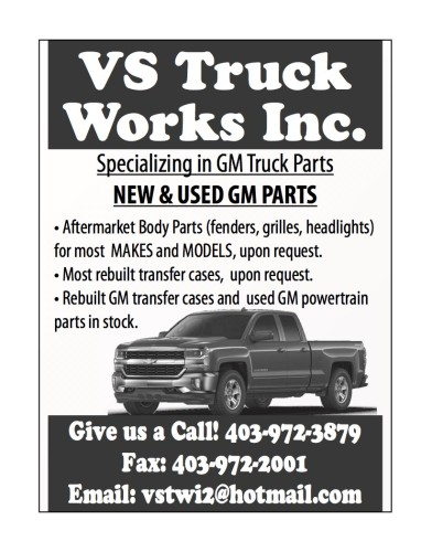 Specializing in GM Truck Parts NEW & USED GM PARTS