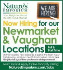 Now Hiring for our Newmarket & Vaughan Locations