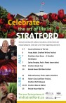 Celebrate the art of life in STRATFORD