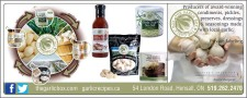 Producers of award-winning condiments, pickle, preserves, dressings & seasonings made with local garlic.