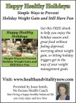 Simple Ways to Prevent Holiday Weight Gain and Still Have Fun