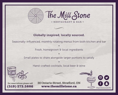 Globally inspired; locally sourced.