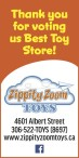 Zippity Zoom TOYS voted best toy store
